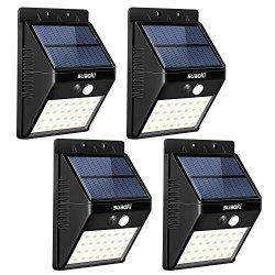 SUAOKI Solar Lights Outdoor Super Bright 28 LED Waterproof