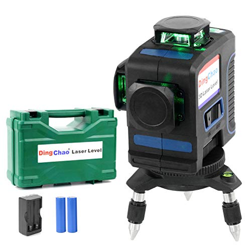 Dingchao Self Leveling Outdoor 360 Green Laser Line Level