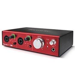 Focusrite Clarett 2Pre USB 10-In/4-Out Audio Interface