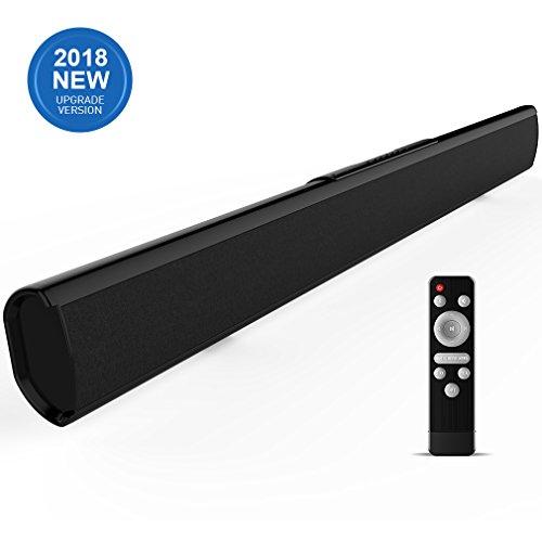 Sound Bar(Upgraded), Meidong 2.1 Channel Soundbars