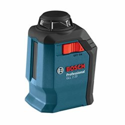 Bosch 360-Degree Self-Leveling Cross-Line Laser GLL 2-20