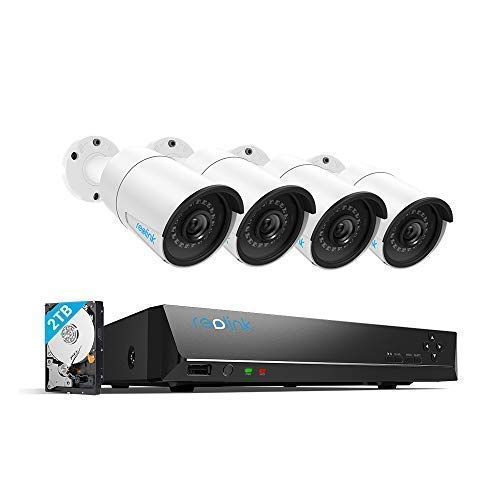 Reolink 4MP 8CH PoE Video Surveillance System