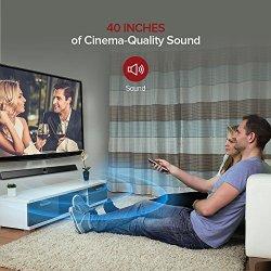 TaoTronics Soundbar, 40-Inch Sound Bar with Display Screen