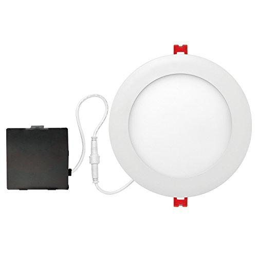 "Globe Electric 6""LED Integrated Ultra Slim Recessed Lighting Kit"
