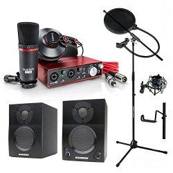 Focusrite Scarlett 2i2 Studio (2nd Gen) USB Audio Interface