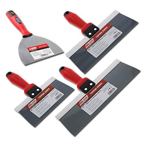 """Sheetrock Drywall Taping Knife Set 6""""- 8""""-10""""-12"""""""