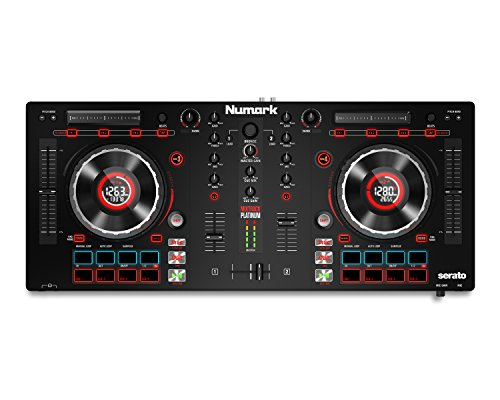 4-channel DJ Controller With 4-deck Layering and Hi-Res Display From Numark—the world's driving pioneer of DJ gear and innovation—comes the new Mixtrack Platinum. We continued all that you cherish about the Mixtrack controller arrangement yet added propelled features you have to reach and remain on the following dimension.