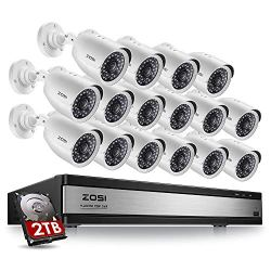 ZOSI 720p 16 Channel Security Camera System