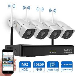 [Newest] Wireless Security Camera System