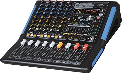 Audio2000'S -Professional Six-Channel Audio Mixer