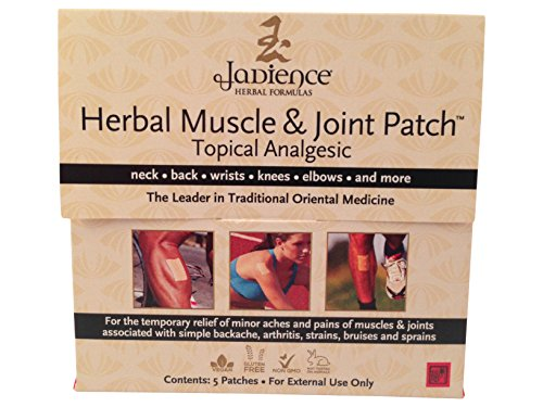 "3 Pack Jadience Muscle & Joint Pain Relief Patch ✔ TRUSTED BY THE PROS: Used by Professional Athletes, Holistic Practitioners, and Luxury Spas ✔ ALLEVIATES PAIN: Its herbs help course, reinforce bones & joints, and lessen bruises ✔ ANALGESIC: Pain alleviation for throbs w/tennis elbow, carpal passage, sciatica, arthritis ANTI-SPASMODIC: Soothe muscles/joints while it decreases fits of the lower back, arms and legs ALL NATURAL - MAD IN THE USA: Paraben-Free | NO Mineral Oil | Alcohol-Free | Vegan | Non-GMO | Gluten-Free The Muscle & Joint Patch by Jadience (Formula #565) has a restrictive mix of wild-reaped herbs including Camphor and Achyranthis. It gives transitory alleviation of any minor a throbbing painfulness in the muscles/joints, including spinal pains, strains, wounds, and sprains. Different advantages include: Chronic and intense relief from discomfort of the muscles/joints Effective on the neck, back, shoulders, arms, hands, legs and feet Increases essentialness and perseverance Each fix is 2"" x 3"". You can apply the whole fix or you can slice the fix to fit littler territories. East Asian professionals and military craftsmen alike have utilized this natural equation for quite a long time. Its properties work rapidly to help in expelling poisons, inward wounds, irritation and stagnation for ideal recuperating. Our help with discomfort fix offers numerous advantages previously, amid and after physical exercises, work around the home, extend periods of time of standing, dreary movement, and proficient or recreational games. Attempt a characteristic method for mitigating your worn out, exhausted, sore and exhausted muscles, joints and nerves. Jadience invites you to encounter its remarkable item with 100% fulfillment ensured. Request NOW while supplies last! 3 Pack Jadience Muscle & Joint Pain Relief Patch: 5 per box 
