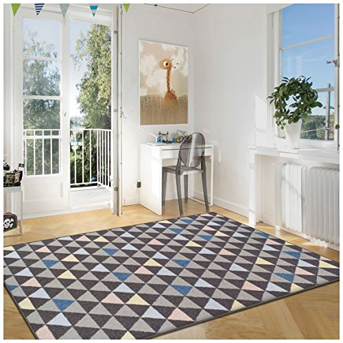 Superior Pastel Aztec Collection Area Rug