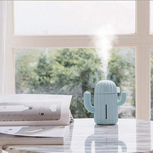Rampmu Home Office Portable USB Cactus Shape