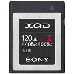 Sony Professional XQD G-Series 120GB Memory Card