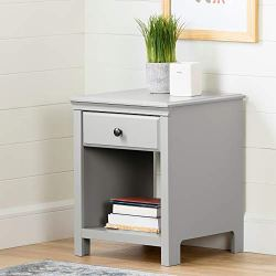 South Shore Cotton Candy 1-Drawer Nightstand