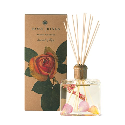 Rosy Rings Botanical Reed Diffuser, Apricot and Rose
