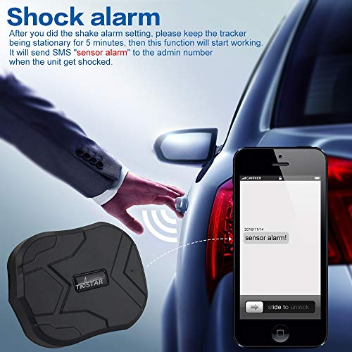 TKSTAR GPS Tracker with Strong Magnet for Car