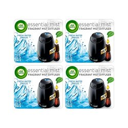 AIR WICK Essential Mist Starter Kit, Fresh Water Breeze