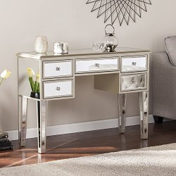Southern Enterprises Champagne Mirage Glam Mirrored