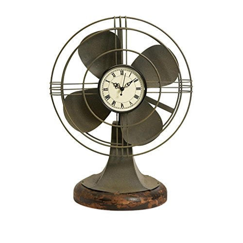 IMAX Thatcher Vintage Fan Clock