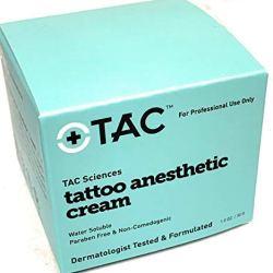 TAC Sciences Tattoo Anesthetic Cream- 1 oz jar