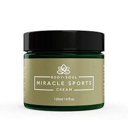 Miracle Sports Cream All Natural Pain Relief Rub