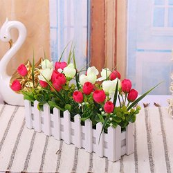 LVLIDAN Artificial Flowers Flora Home Accessories