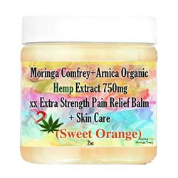 Moringa Comfrey+Arnica Organic Hemp Extract 750mg