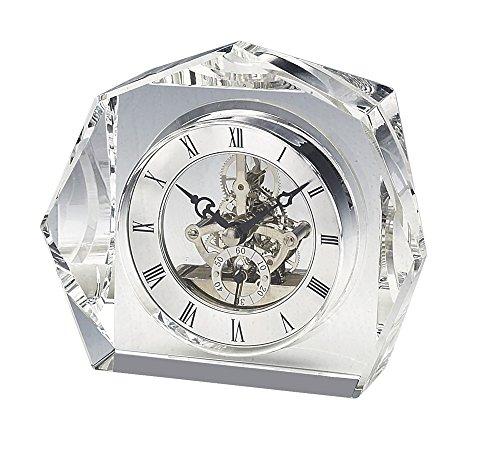 Upper Gifts Elegant Crystal Desk Clock