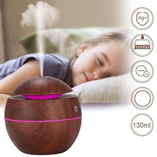 Smiela Quiet Mist USB Air Humidifier Essential Oil Diffuser