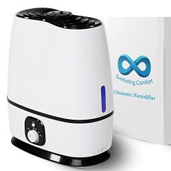 Ultrasonic Cool Mist Humidifier (6L) - Essential Oil Tray