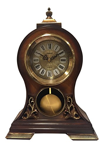 Elegant, Decorative, Grandfather Clock Hand Painted Wood