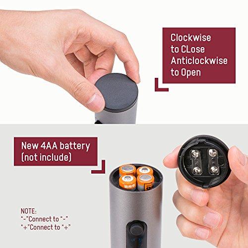 Electric Wine Opener, BFULL Cordless Bottle Opener