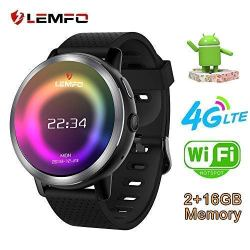 LEMFO LEM8 Smart Watch, Android 7.1.1 4G LTE