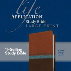 Life Application Study Bible KJV, Large Print