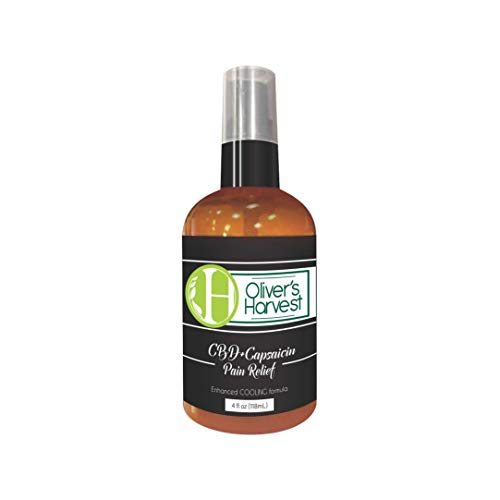 Oliver's Harvest Hemp Oil Extract with Capsaicin Topical Cream