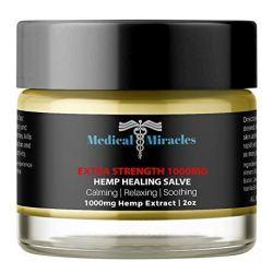 Hemp Pain Cream Salve - Extra Strength