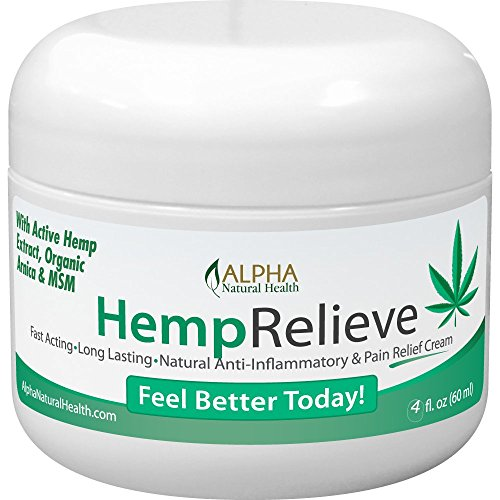 Organic Hemp Extract 200 Mg Pain Relief Cream