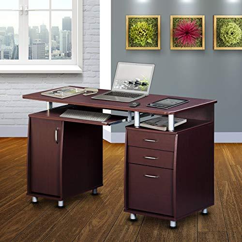 Techni Mobili Complete Workstation Computer Desk