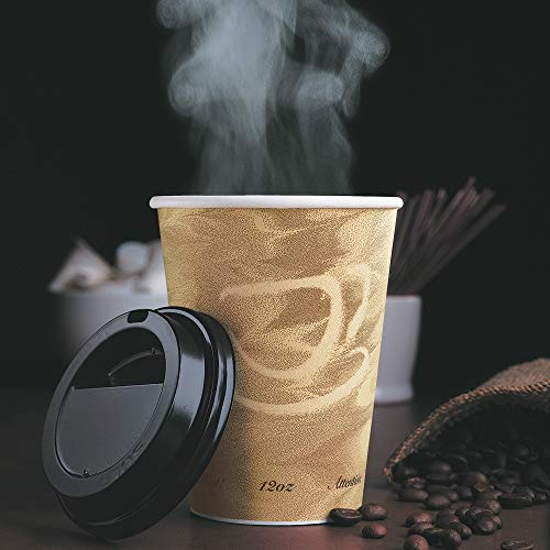 Solo 12 oz Mistique SSP Paper Hot Cup (Case of 1000)