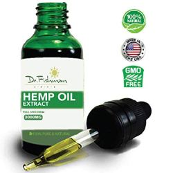 Hemp Oil Extract 3000mg - by Dr. Fishman Labs