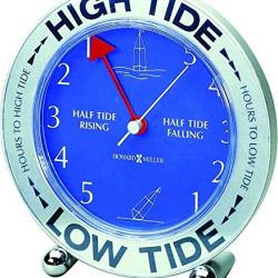 Howard Miller Tide Mate III Weather & Maritime Table Clock by