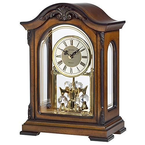 Bulova Durant Chiming Clock, Walnut