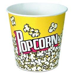 Solo 85 oz Popcorn Paper Bucket (Case of 150)