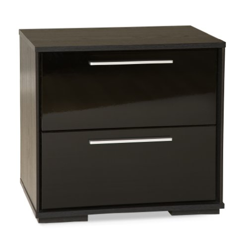 South Shore Mikka 2-Drawer Nightstand