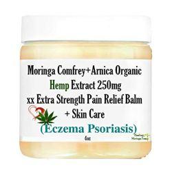 Moringa Comfrey+Arnica Organic Hemp Extract