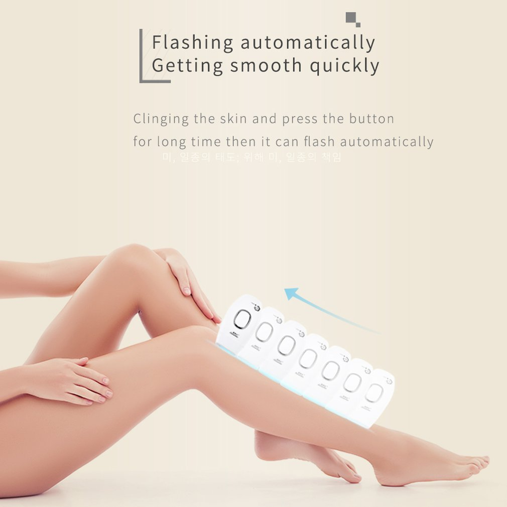 Laser Hair Removal Instrument Body Photon Underarm Private Parts Beauty Salon Hair Removal Equipment Personal Care Products 16