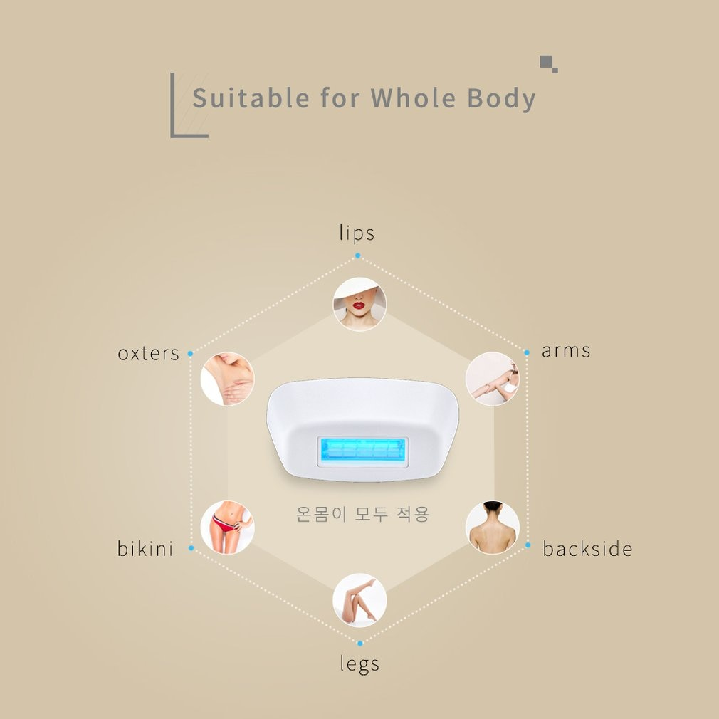Laser Hair Removal Instrument Body Photon Underarm Private Parts Beauty Salon Hair Removal Equipment Personal Care Products 18