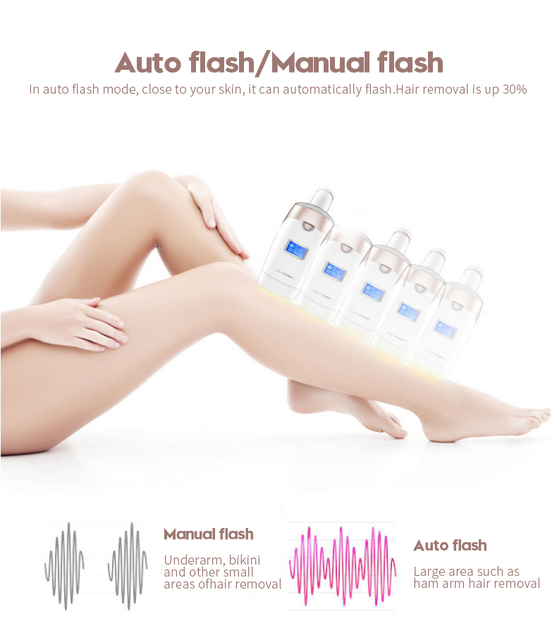 3in1 700000 pulsed IPL Laser Hair Removal Device Permanent Hair Removal IPL laser Epilator Armpit Hair Removal machine 7