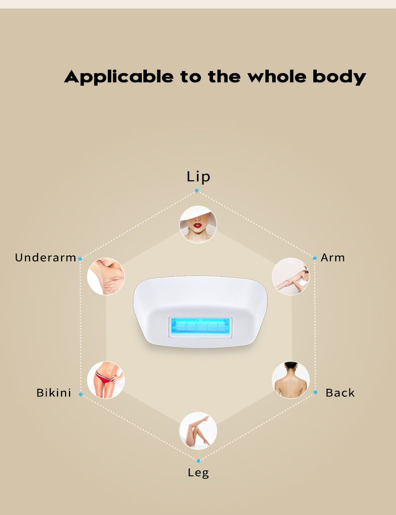 professional permanent IPL epilator 300000 flas laser hair removal electric photo women painless threading hair remover machine 20